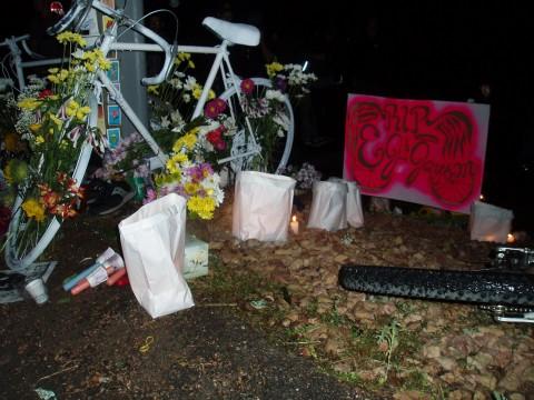 EJ and Jayson Ghost Bike