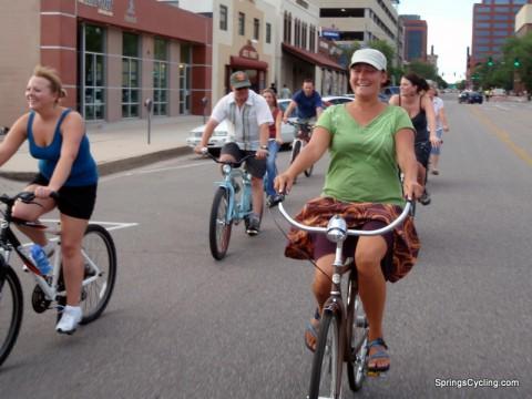 Cruiser Bike Ride Colorado Springs