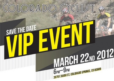 Colorado Cyclist VIP Event