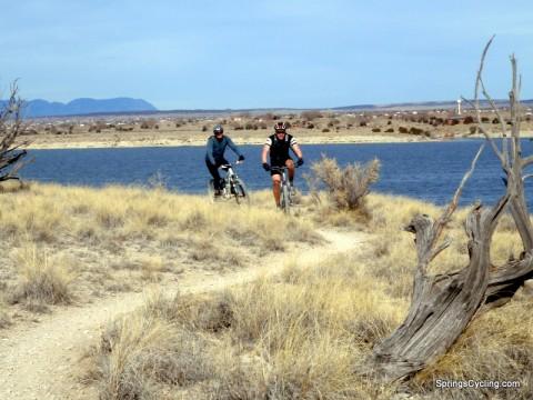 Mountain Biking Pueblo Reservoir