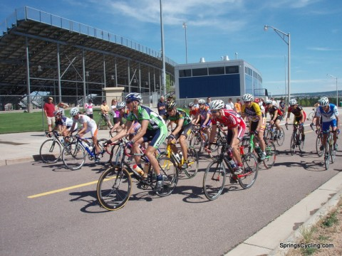Bike Racing at the Air Force Academy