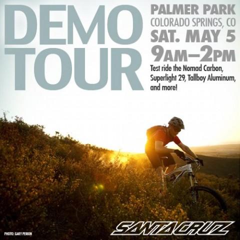 Santa Cruz Demo Bikes 2012