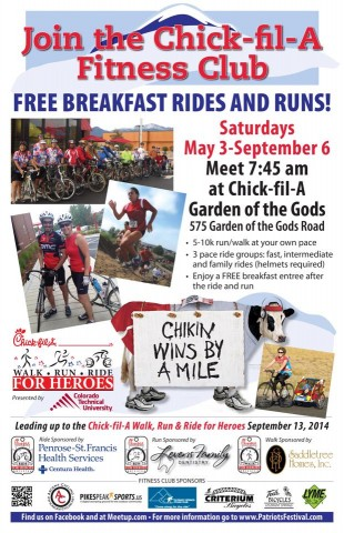 Chick-Fil-A Breakfast Rides 2014